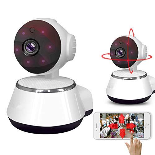 DSMGLRBGZ Vigilabebés, Vigilabebes con Camara Camara Bebes Vigilancia 1080P WiFi Cámara Remota 360 ° Sin Ángulo Muerto para Ve A La Cama Seguridad