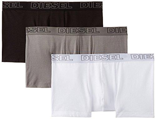 3er Pack Diesel Herren Boxershorts Essential UMBX-SHAWN (XL/7, schwarz/weiß/grau)