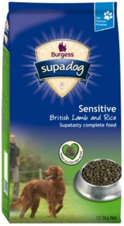 Burgess Sensitive Lamb & Rice Dog Food 12.5kg