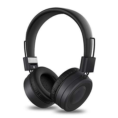 BIGFOX Cuffie Bluetooth, Cuffie Wireless Stereo Pieghevole ad Alta fedeltà con Microfono,Radio FM,Micro SD TF, Cuffie Over Ear Riduzione del Rumore,per iPhone iPad Android Tablet TV