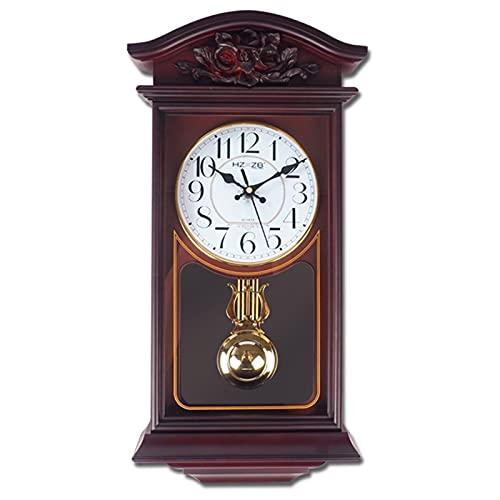 """Décor horloges Horloge murale rétro de 20 """"Pendule Horloge murale de la batterie décorative de la batterie décorative pour salle de cuisine à la maison Horloge murale vintage ( Color : Style 2 )"""