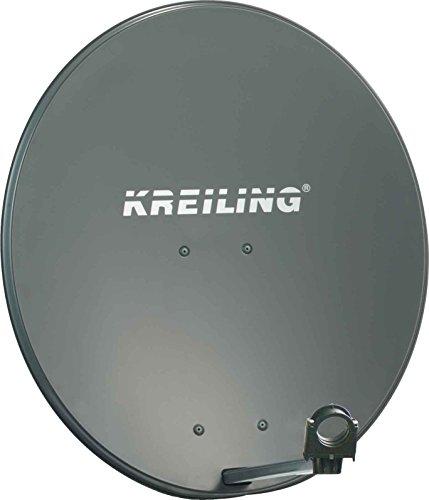 KREILING KR AE 80 Style/ALU Anthrazit Satellitenantenne - Satellitenantennen (39,2 dBi, 80 cm, Anthrazit, Aluminium)