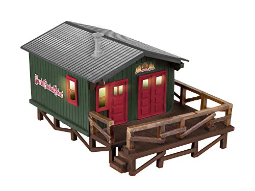 Lionel Christmas, Electric O Gauge Model Train Accessories, Roasted Chestnuts Retreat