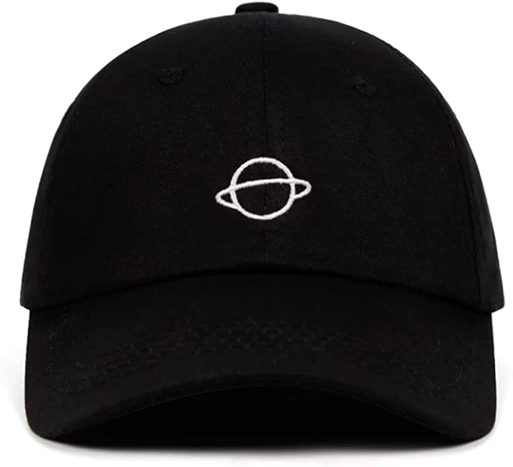 Planet Hat Baseball Cap Embroidery Dad Hat Aadjustable Cotton Adult Sports Hat Unisex