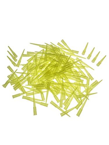 Labor-Pipettenspitzen, 200 µL, 1000 Stück/Beutel, transparent gelb