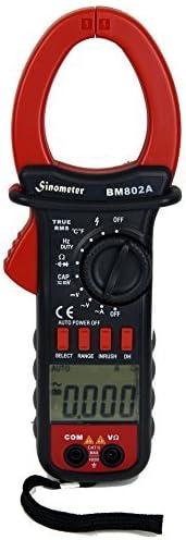 Sinometer BM802A True RMS Auto Manual AC Meter Clamp to Max 85 ...