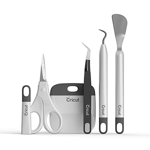 Conjunto básico de ferramentas Cricut, cinza