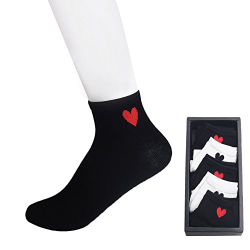 Artilady Heart women socks(pack of 5)