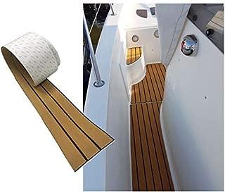 94.5 x 6.7 x 0.24 inch Boat Flooring Teak Decking Carpet Yacht Sheet Pad Touring Car RV Mat Marine Foam Padding Camouflage Sheet