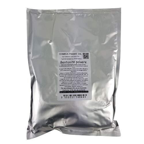 Agristore di Cosenza V. Bentonite in Polvere 1kg stabilizzante colloidale e chiarificante per Vino