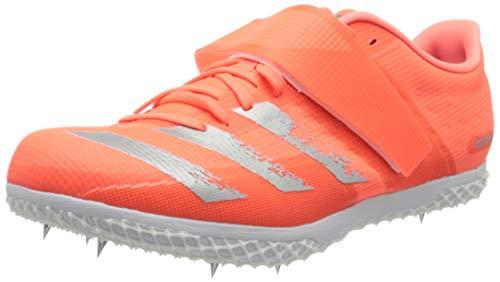 adidas Adizero Hj, Zapatillas Unisex Adulto, Signal Coral/Silver Met./FTWR White, 49 1/3 EU