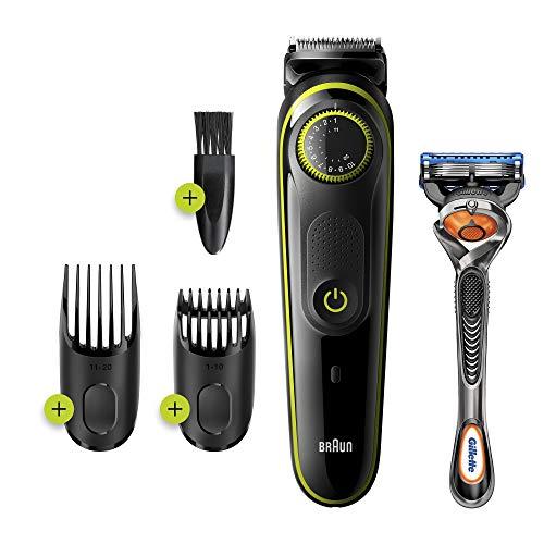 Braun BT3241 Tondeuse électrique Barbe et Cheveux, 39...