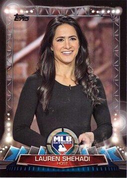 2017 Topps MLB Network #MLBN-6 Lauren Shehadi Baseball Card