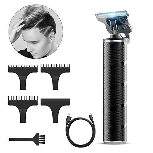 Easy Trim Rasierer, Xpreen Haarschneider Herren Elektrisch Haarschneidemaschine 0 mm Capellix Rasierer Pro T Blade Outliner Trimmer Haarschneider mit T-Klinge Wasserdichter Für Männer