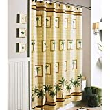 Better Homes and Gardens Palm Decorative Bath Collection - Shower Curtain
