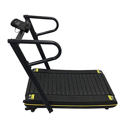 UNCTAD Cinta de Correr Plegable - Superficie Curva - Diseño ergonomico - Cintas de Correr con Contador - Caminadoras para hogar, Oficina, etc - La Carga máxima es de 150 kg
