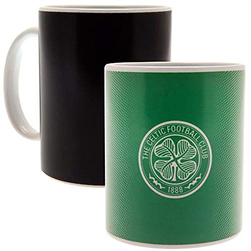 Official Licensed Celtic F.C - Heat Changing Mug