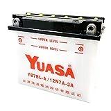 YUASA ユアサ YB7BL-A 開放型バッテリー 互換 12N7A-3A 12N7B-3A MVX250