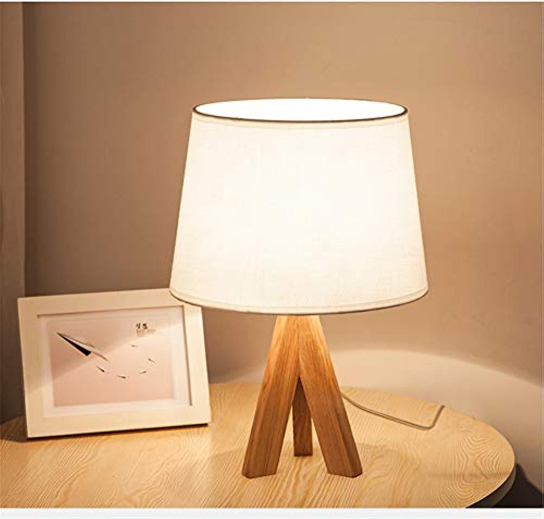 Amerikanischen Hlzerne Tischlampe,Leselicht,Schlafzimmer Nachttischlampe,Solide konstruktion Weiches licht Augenpflege Für Kinderzimmer Kommode Bücherregal-D 20x37cm(8x15inch)