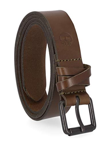 Timberland Women's Casual Leather Belt for Jeans, Martini Olive, X-Large (35-39)