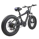 RXRENXIA Bicicleta De Montaña, Shift 4.0 Neumático Ancho De Peso Ligero Y La Bicicleta Plegable De Aluminio con Pedales Portátil Nieve Bicicletas Bicicletas Bici De La Playa