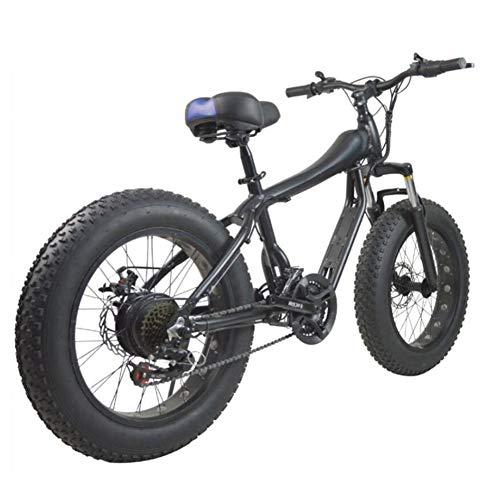 LPsweet Mountain Bike, Shift 4.0 Breitreifen Leicht Und Aluminium Faltrad Mit Pedalen Beweglichen Fahrrad Schnee Fahrrad Strand-Fahrrad