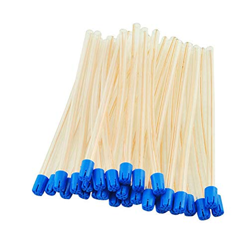 Artibetter 100 unids desechables tubos quirúrgicos dentales saliva dental eyector materiales dentales