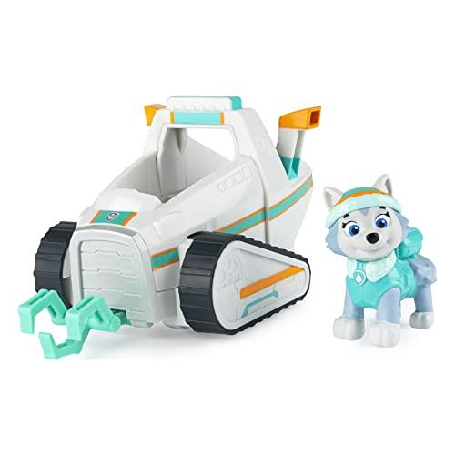 PAW Patrol Schneefahrzeug mit Everest-Figur (Basic Vehicle/Basis Fahrzeug)