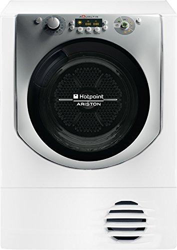 Hotpoint AQC9 2F7 TM2 1 (U) Sèche-linge, autoportant, chargement frontal, 9 kg, A++, à condensation, avec boutons, charnière de porte droite, rotatif