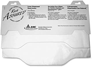 Impact Products Toilet Seat Covers, Flushable, 3000/CT, White