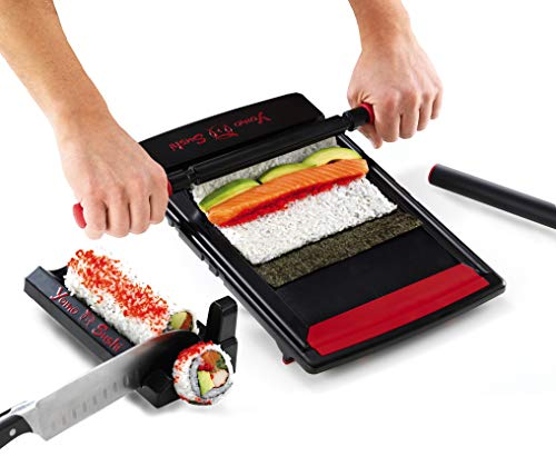 Perfect Roll Every Time - Follow The 4 Easy Steps And Make Sushi Rolls Like A Pro. Made For Adults But Children Just Love It. Create Great Parties Where All Members Of The Family And Friends Proudly Create Their Own Rolls Makes All 4 Kinds Of Maki - ...