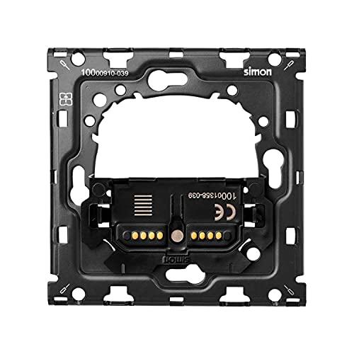 Kit back para 1 elemento con 1 interruptor persianas, serie 100, 9 x 7,6 x 7,6 centímetros, color negro (referencia: 10010115-039)