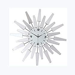Clock Living Room Bedroom Wall European Mute Quartz Wall Modern Minimalist Creative