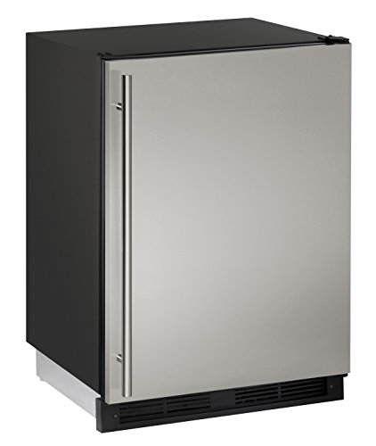 Review U-Line U1224RS00B 5.2 cu. ft. Compact Refrigerator, Stainless Steel