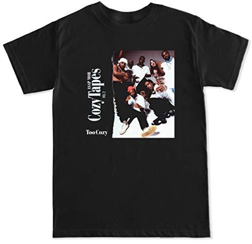 Cozy Tapes Hip Hop Trap Rap Kanye Drake Kendrick ASAP Rocky FERG Mob Mens T Shirt Cotton Short Sleeves Printes Shirt