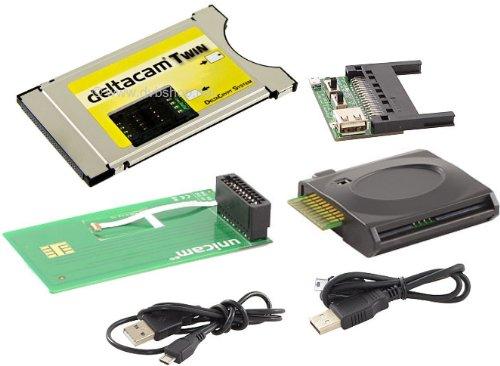 Deltacam Twin Deltacrypt + Unicam original USB-Combo Programmer Vertikal Bundel
