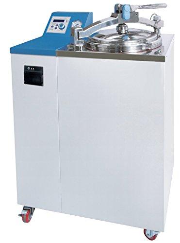 Witeg Dampfsterilisator WAC-R47 47L bis 132°C mit eingebauten Recorder, für Biotechnologie, Kliniken, Umwelt, Medizin und Nahrungsmittelindustrie