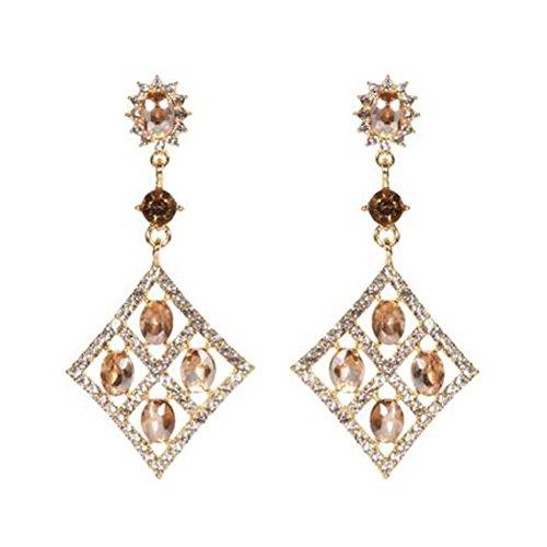 Beautiful Design Dangle Earrings Tassel Earrings Ears Décoration pour dames, No.6
