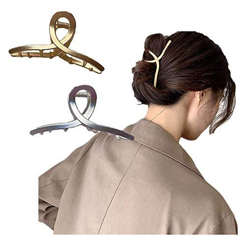 Horquilla simple perezosa del metal del tocado, horquilla simple del metal del tocado, pinzas antideslizantes para las mujeres