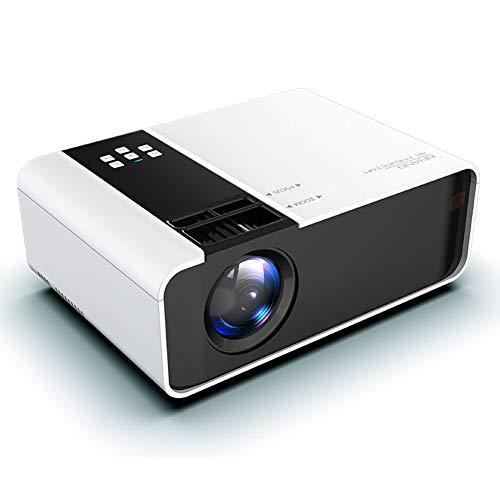 WiFi Projektoren/1080P Volle HD-2800 Lumen Mini LED Video Projektor Tragbare Für Smartphone Drahtlose Projektor HDMI Multimedia Home Büro Mobiltelefon Theater Film(Size:Handy bildschirm version)