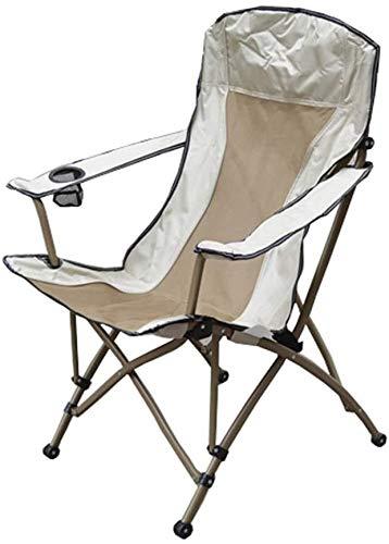 Kyman Sun Silla Tumbona, Silla Plegable de Peso Ligero, Uso de jardín/Camping/Viajes/Pesca/Senderismo/Picnic/Parque/Aire Libre