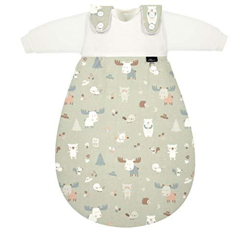 Set Alvi Baby Mäxchen Schlafsack mit Stoffwindel von Kinderhaus Blaubär/Alvi Außensack & zwei Alvi Innensäcke/Ganzjahresschlafsack mitwachsend