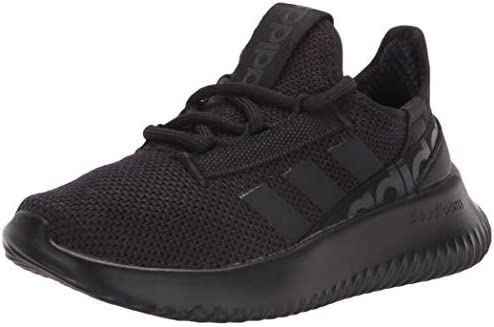 adidas unisex child Kaptir 2 0 Running Shoes Black Black Carbon 1 Little Kid US product image