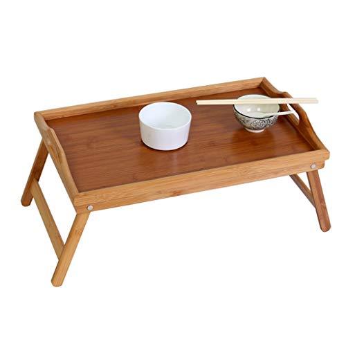 KLSJJ Life Portable Folding Tray Tray, Small Desk, Bed Tray Lazy Tray, Any Bed, Sofa Best Choice