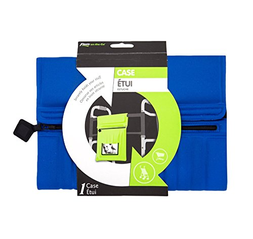 Flents On The Go Case for Walkers, Strollers, Wheelchairs in Blue (Carrying Case)