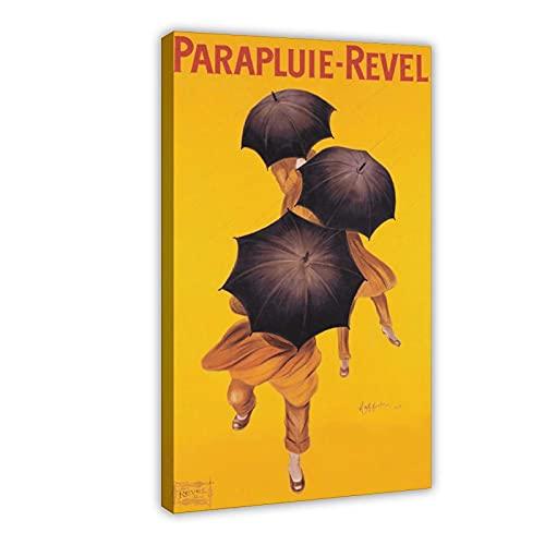 RBIX Art Vintage-Regenschirm-Werbe-Leinwand-Poster, Schlafzimmer, Dekoration, Sport-Landschaft, Büro, Raumdekoration, Geschenk-Rahmen: 30 x 45 cm