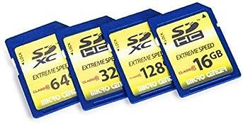 Micro Center 32GB Class 10 SDHC Flash Memory Card SD Card (2 Pack)