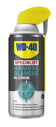 WD-40 Specialist • Graisse Blanche Au Lithium • Spray Double Position • Formule Blanche et...