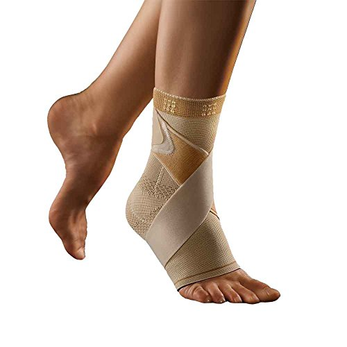 BORT select TaloStabil® Plus Fußbandage, x-large, hautfarben, links
