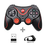 Gamepad Controller Terios T3/X3 For Ps3/Android Smartphone Tablet Pc With Tv Box Holder T3+ Remote Support Bluetooth T3Plus-S-Adapter